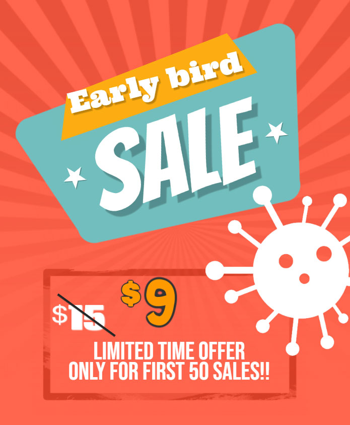 Early bird sale