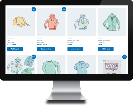 Woocommerce variations as products customer screen