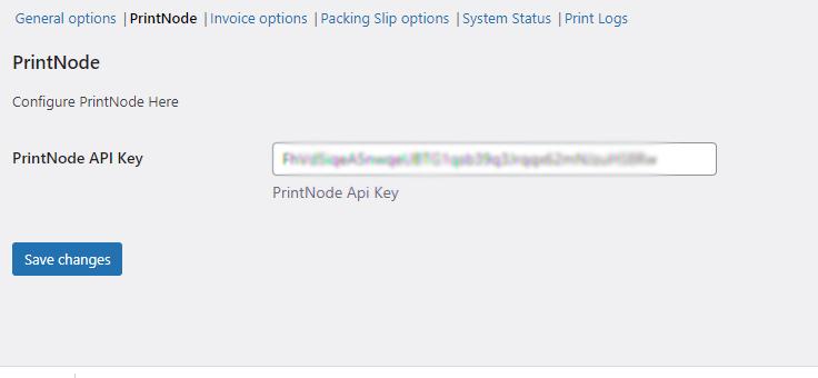 Woocommerce impressão de pedido automático nó de impressão