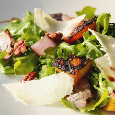Fried Chicken & Bread Salad