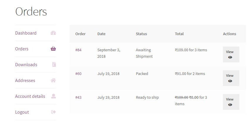 Woocommerce Custom Order Statuses and Order Page Manager - 3